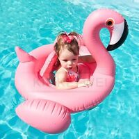 Flamingo Baby Kinder Schwimmsitz Schwimmhilfe Badering Schwimmring 0,5-2 Jahre