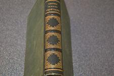 LETTRES DE MADAME DE SÉVIGNÉ, Furne 1855. Belle reliure dorée (H5)