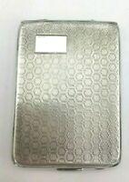 Solid Silver Art Deco Matchbook Vesta Case Bravington's Ltd, Birmingham, 1927