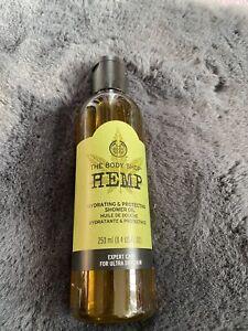 The Body Shop 250ml Hemp Shower Oil