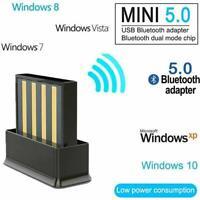 USB Bluetooth 5.0 Adapter für PC Laptop Range Receiver für Windows 2.4GHz Access