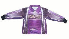 Womens Long Sleeve Fishing UV Shirt Purple 2016 (CLEARANCE PRICE)