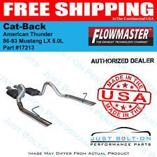 Flowmaster 86-93 Mustang LX 5.0L, 86 GT 5.0L American Thunder Cat-Back 17213