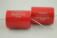 2PCS Audiophiler MKP-Kondensotor 400V 12.0uf 3% Audio Capacitor 12uf Capacitance