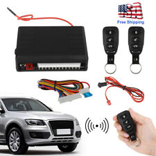 Car Universal Security Keyless Entry Push Button Ignition Remote Engine System