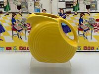 Vintage Fiesta Small Disc Disk Yellow Juice Pitcher Fiestaware Yellow