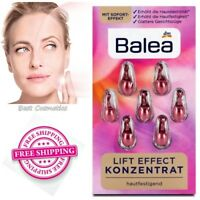 Balea Lift Effect Anti-Wrinkle Face Concentrate Serum Set 7 Capsules New - SALE