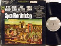 COLUMBIA 2-EYE STEREO Edgar Lee Masters' SPOON RIVER ANTHOLOGY OS-2410