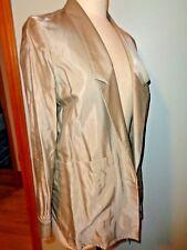 Stella McCartney Tan Cotton Blend Blazer Jacket SZ 40 Coat