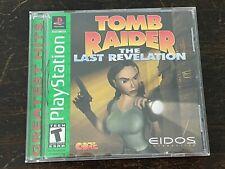 Tomb Raider: The Last Revelation - Sony PlayStation - Greatest Hits