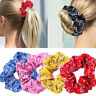 Women Elastic Hair Rope Hair Tie Scrunchies Ponytail Holder Bandana Flower