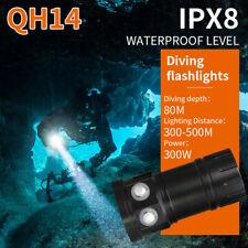 Unterwasser 80M 50400LM LED Scuba Fotografie Tauchen Taschenlampe Wasserdicht