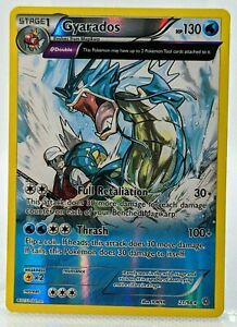 Gyarados FULL ART Holo Rare 21/98 XY Ancient Origins Pokemon Card NM/Mint 2015