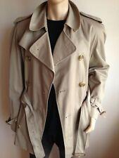 Burberry homme L Large 42-44 Boutonnage Double Vintage Trench Coat Imperméable Veste