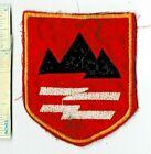Vietnam War US Army 23rd ARTILLERY Batt Black Virgin Mountain Shoulder Patch Nam
