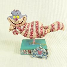 Jim Shore Walt Disney Floating Cheshire Cat Figurine statue Alice Wonderland