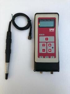 SPM T2000 Choque Pulso Probador Monitoreo con Sensor
