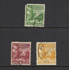 Used George V (1910-1936) Samoan Stamps