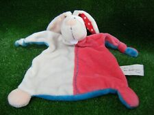 """My First Nici Bunny Comforter cream pink blue 10"""" approx (B102)"""