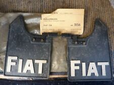 FIAT 128 Genuine Front mud flap kit.  NOS.
