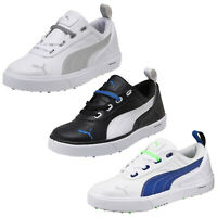 Puma Junior Monolite Waterproof Spikeless Golf Shoes Lightweight Kids Cobra Mini