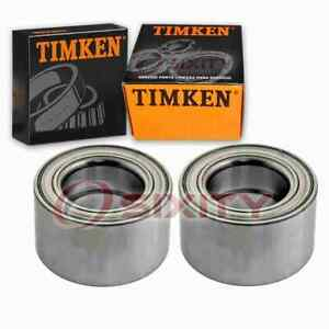 2 pc Timken Front Wheel Bearings for 2002-2006 Nissan Altima 2.5L 3.5L L4 V6 cg