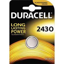 Brand New 1 x Duracell CR2430 3V Lithium Coin Cell Battery DL2430 K2430L ECR2430
