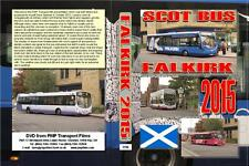 3196. Falkirk. UK. Buses. October 2015. A very busy center of bus operations mai