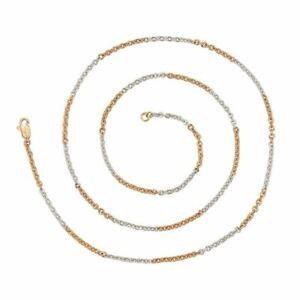 Elegant White Gold Chain Necklace