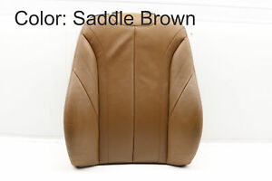 2014-2016 BMW 428I XDRIVE - Front Right Upper SEAT Backrest Cushion (Leather)
