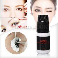 Noir Colle Faux Cils Extension Adhésif Glue Non Irritation Permanent Maquillage