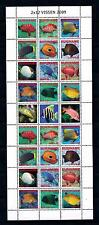 [SUV1616] Suriname Surinam 2009 Marine Life Fish Miniature sheet with tab MNH