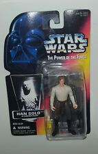 Star Wars Han Solo In Carbonite Power Of The Force Red Card Kenner 1996 NEW