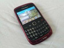 Blackberry Curve 9330 Verizon Black / Purple Cell Phone CDMA  Fusia Pink Magenta