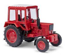 Busch H0, 51304 Belarus MTS 80, ziegelrot, Automodell 1:87