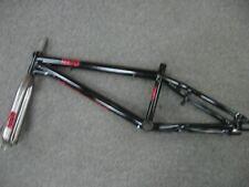 Redline Mega-X XL frame and fork Black BMX Street Dirt Park