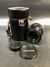 Topcor Lens 1:4 135mm Tokyo Kogaku 139271 in Case
