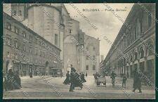 Bologna città Piazza Galvani cartolina QQ8902