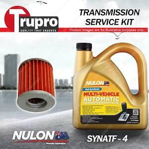 SYNATF Transmission Oil + Filter Service Kit for Mitsubishi Outlander ZG ZH 2.4L