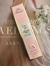 Too Faced Dew You Fresh Glow Luminous Face Primer Radiant Nude 1.3 Oz. Boxed New