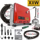 ✅✅500W Rohrreinigungsmaschine 16mm Rohrreinigungsgerät Spirale Abwasser 30-100mm