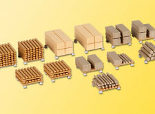 Set de planches et Poutres Décor-ho-1/87-kibri 38607