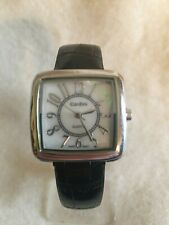 Cardini Women's Watch - Black Leather Band - New