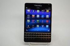 BlackBerry Passport - 32GB - Black (Unlocked) Smartphone Excellent Cond!