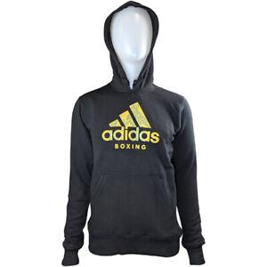 Adidas Badge Of Sport Black/Gold Boxing Hoodie