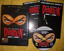 DIABOLIK THE ORIGINAL SIN-DVD RETRO GIOCO PC GAME,FUMETTI PROLOGO eva kant,ginko