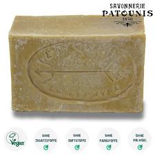 (2,40 EUR/100gr) Patounis grüne Olivenseife (115gr) Vegan ohne Zusatzstoffe