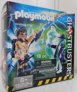 PLAYMOBIL ® - Ghostbusters ™ 9224 - Spengler und Geist, leuchtet im Dunkeln NEU