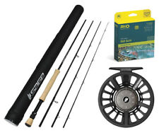 """NEW! Sage Foundation 990-4 Fly Rod Outfit : 9wt 9'0"""""""