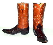 Womens 6 A Cowboy Boots Vintage Justin Narrow Width Indie Cowgirl Western Shoes